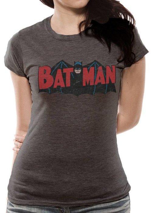 DC Comics Batman Old School Logo 1966 - Female - T-Shirt
