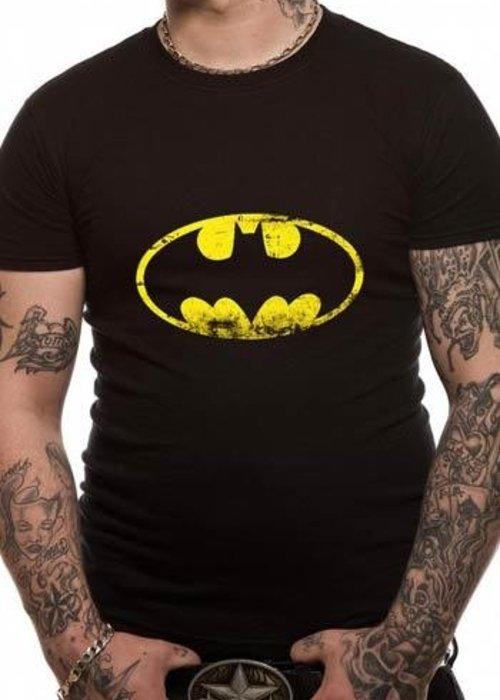 DC Comics Batman Washed Logo - T-Shirt