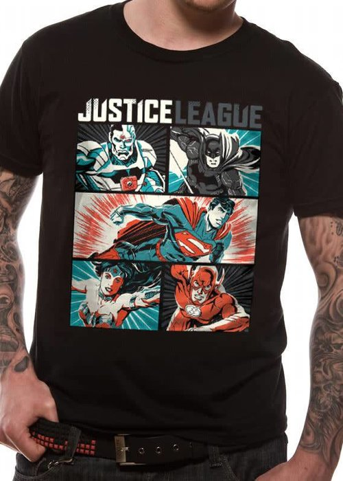 DC Comics Justice League Pop Art - T-Shirt