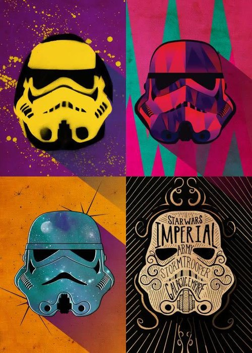 Star Wars Urban Squad  | Pop Art Troopers