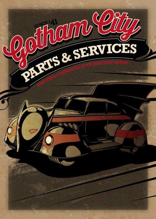 DC Comics Batmobile 1943    Gotham City Motor Club