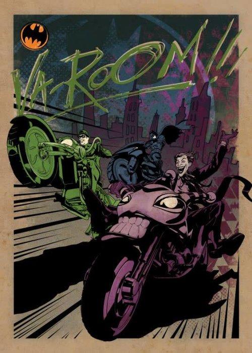 DC Comics Gotham City MC    Gotham City Motor Club