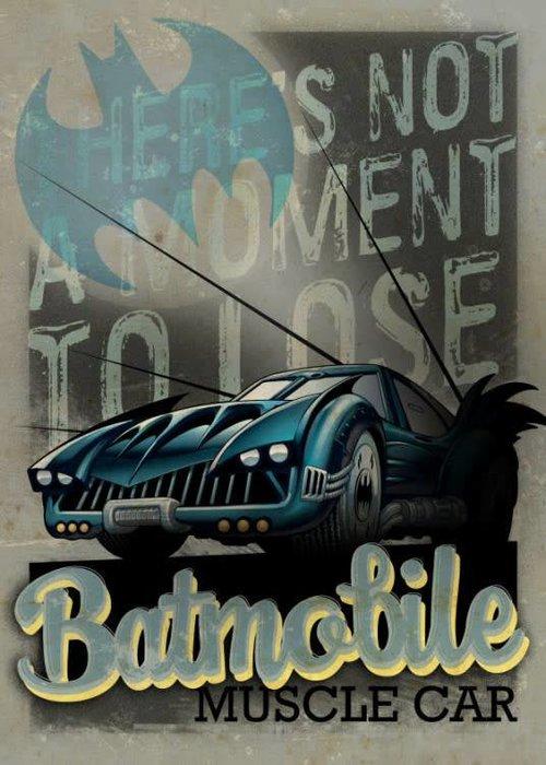 DC Comics Muscle Car    Gotham City Motor Club