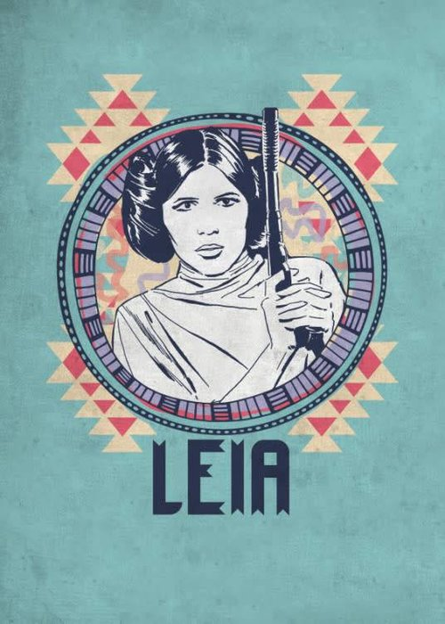 Star Wars Leia  | Space Patterns