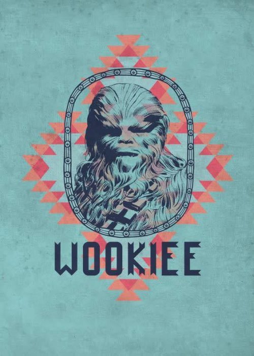 Star Wars Wookie  | Space Patterns