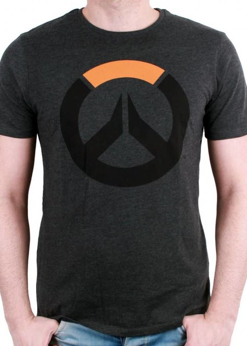 Blizzard Overwatch Black Logo | T-Shirt