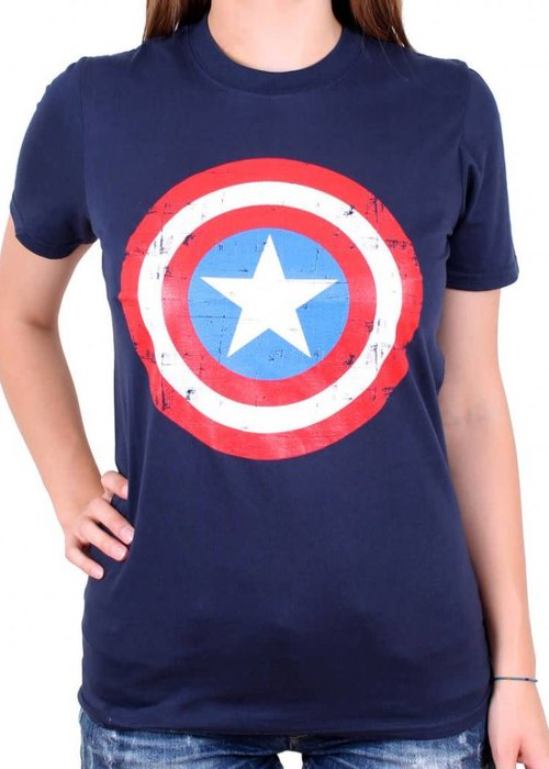 Marvel Captain America Shield | Female | T-Shirt