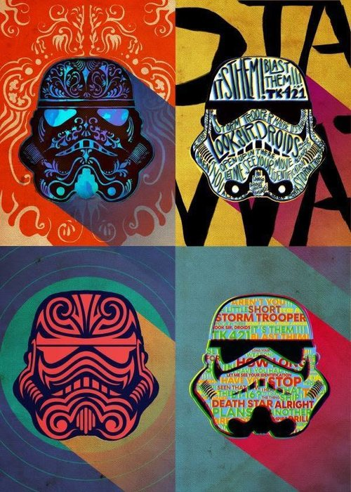 Star Wars Ink Squad First Numbered Pixie Print | Pop Art Troopers