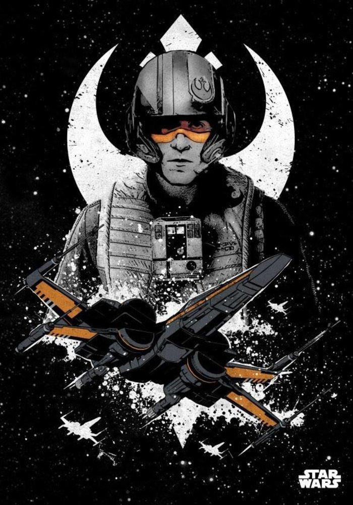 Poe Dameron    Star Wars Pilots