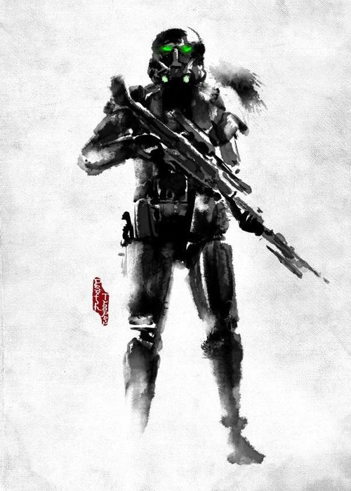 Star Wars Death Trooper  | Rogues Artbook