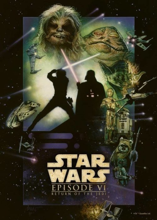 Star Wars Return of the Jedi  | Star Wars Movie Posters