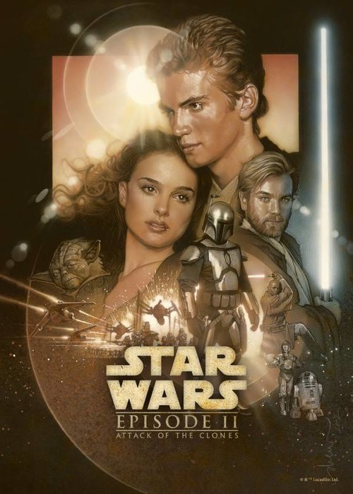 Star Wars Attack of the Clones  | Star Wars Movie Posters
