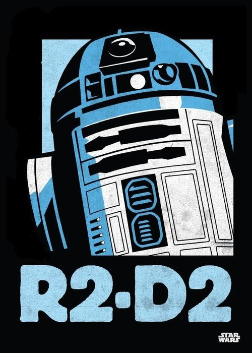 Star Wars R2-D2  |  Star Wars Icons Posters