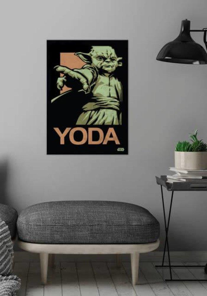 Master Yoda  | Star Wars Icons Posters