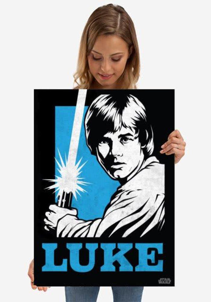 Luke Skywalker    Star Wars Icons Posters