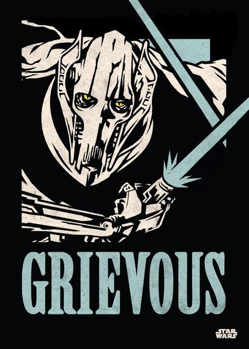 Star Wars General Grievous  | Star Wars Icons Posters