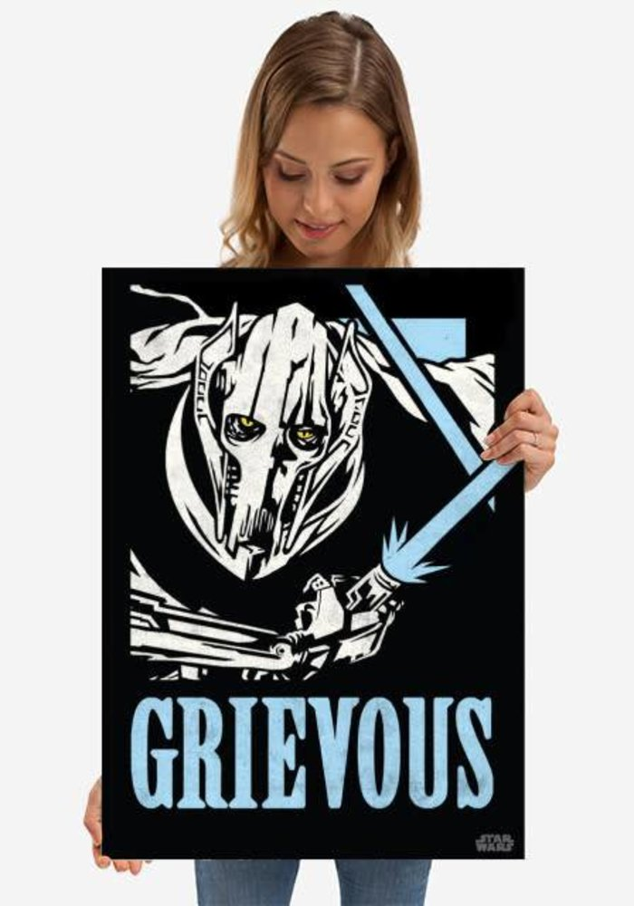 General Grievous  | Star Wars Icons Posters