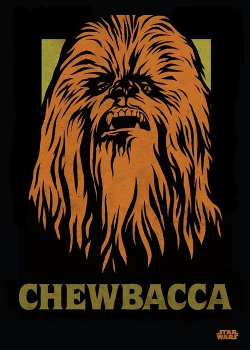 Star Wars Chewbacca  | Star Wars Icons Posters