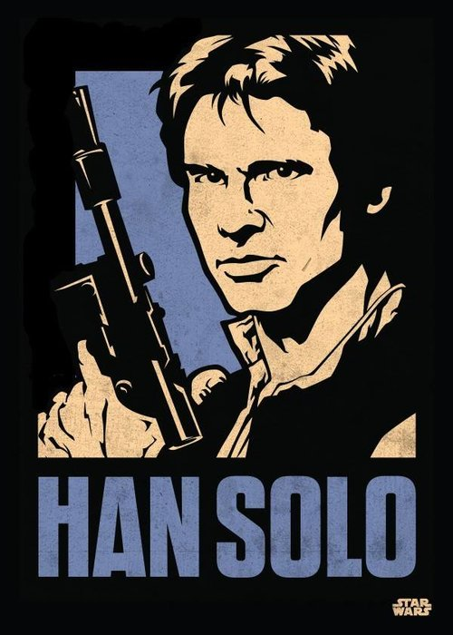 Star Wars Han Solo  |  Star Wars Icons Posters