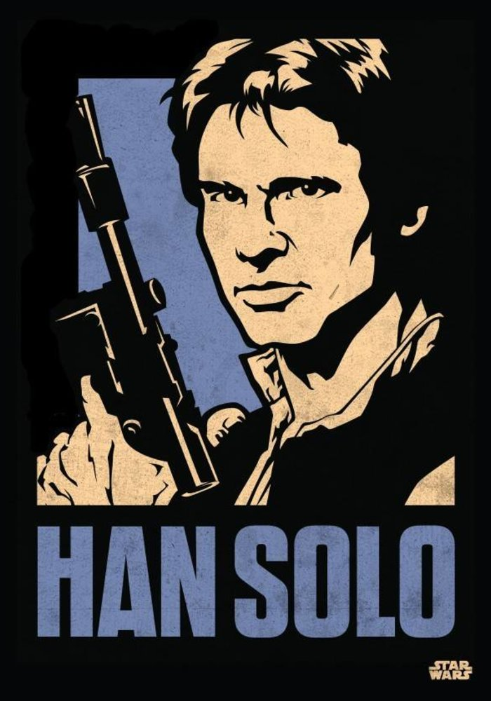 Han Solo  |  Star Wars Icons Posters
