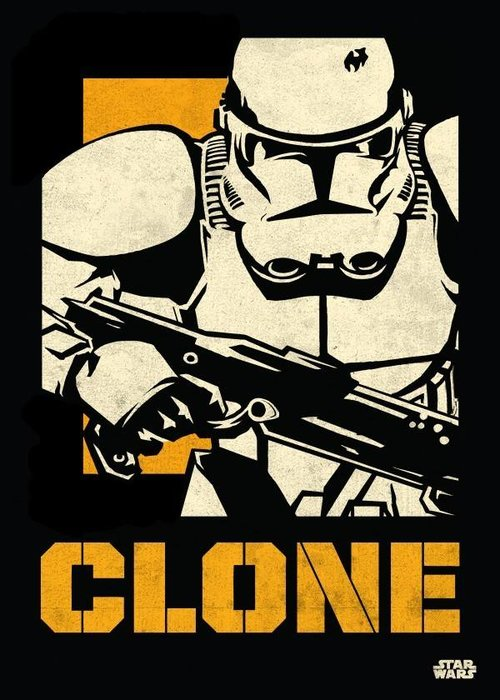 Star Wars Clone Trooper  | Star Wars Icons Posters
