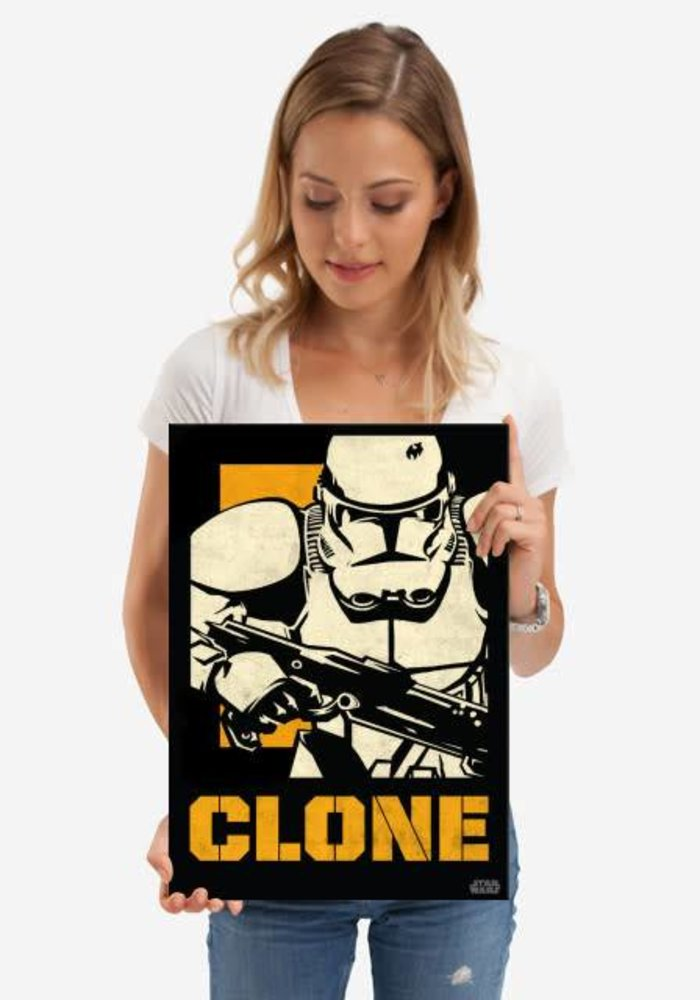 Clone Trooper  | Star Wars Icons Posters