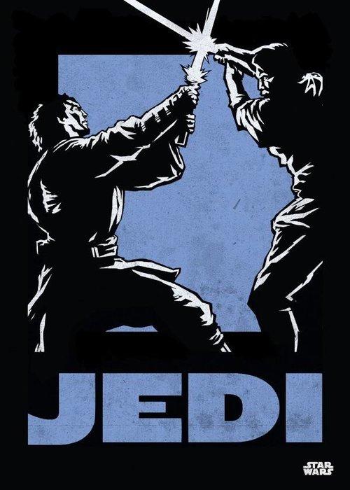 Star Wars Jedi  |  Star Wars Icons Posters