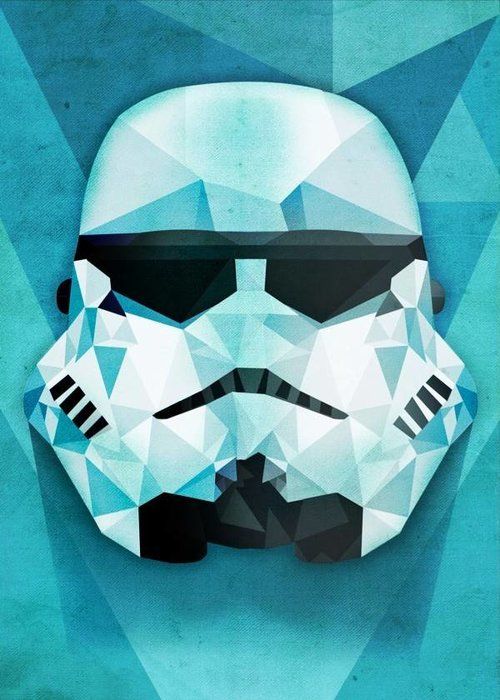 Star Wars Polygonal  | Masked Troopers