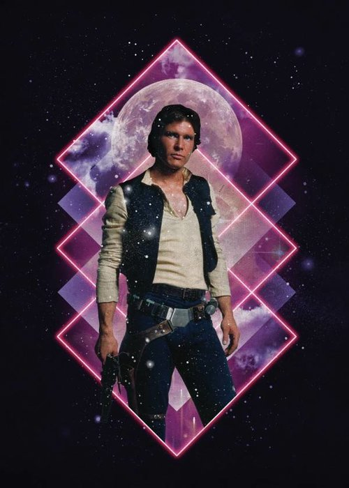 Star Wars Han Solo  |  Retro Wars