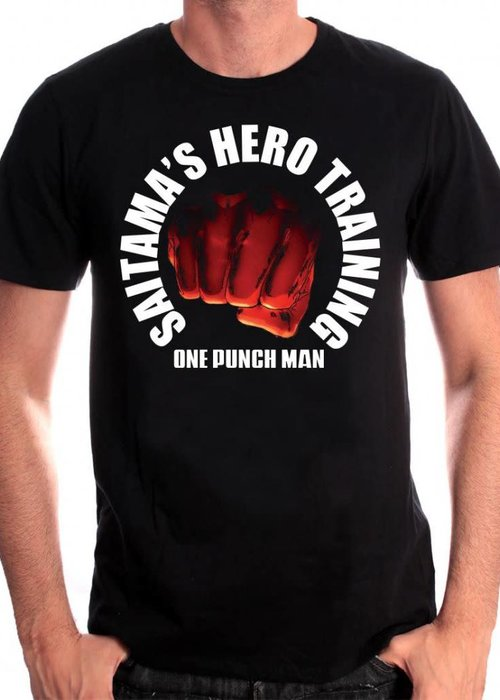 One Punch Man Saitama Hero Training | One Punch Man | T-Shirt