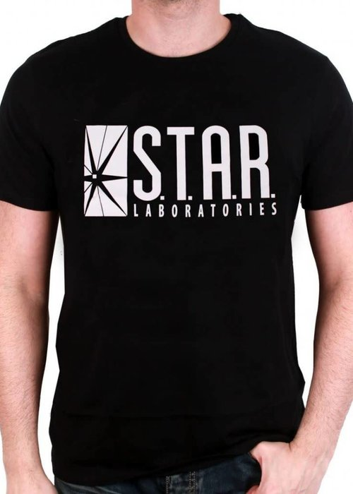 DC Comics Star Labs | The Flash | T-Shirt zwart