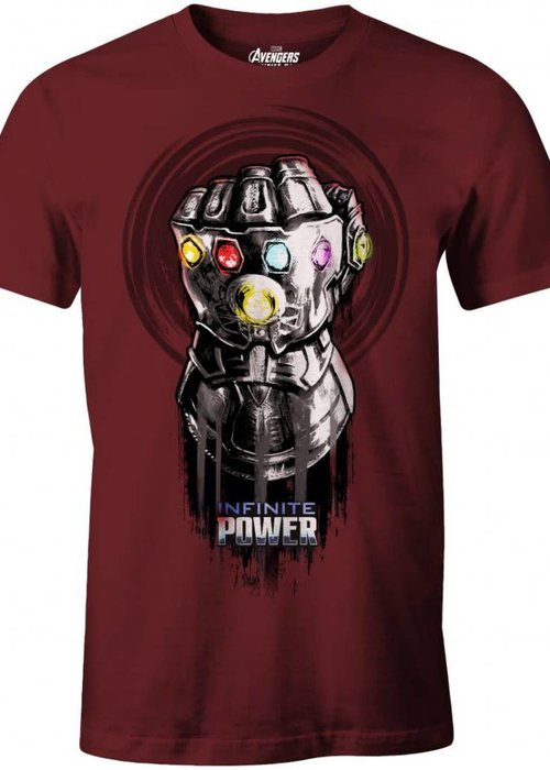 Marvel Thanos Glove | Avengers Infinity War | T-Shirt Red
