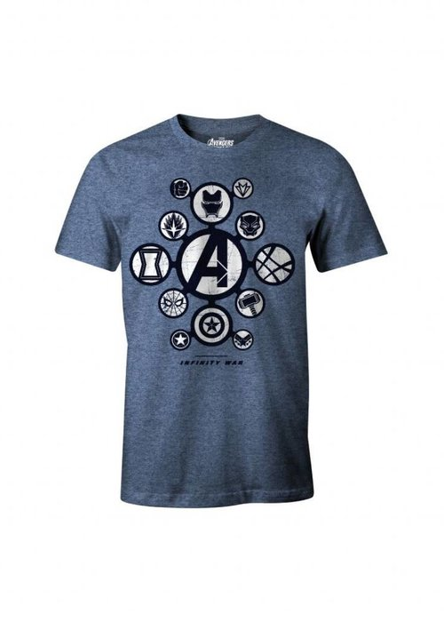Marvel Avengers Logos | Avengers Infinity Wars | T-Shirt