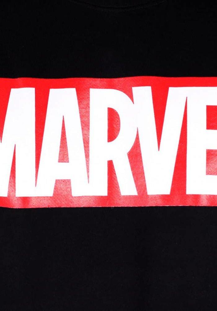 Marvel Logo Black - T-Shirt