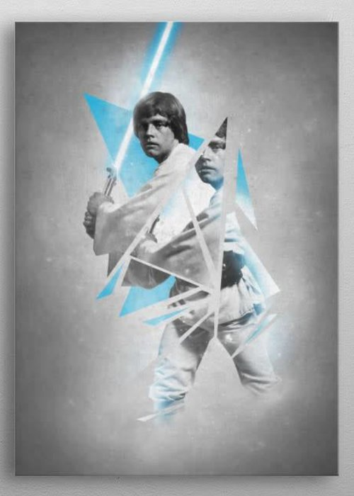 Star Wars Luke  |  Star Wars Force Sensitive