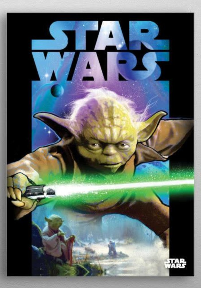 Star Wars Master Yoda Dark Side Vs Light Side