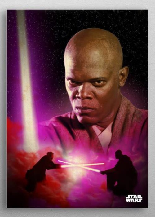 Star Wars Mace Windu  | Duel of the Fates