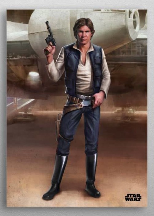 Star Wars Han  |  Episode IV A New Hope