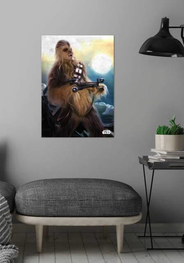 Chewie    The Force Awakens