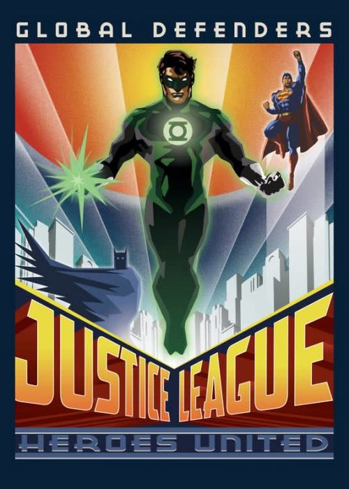 DC Comics Global Defenders  | Justice League Retro