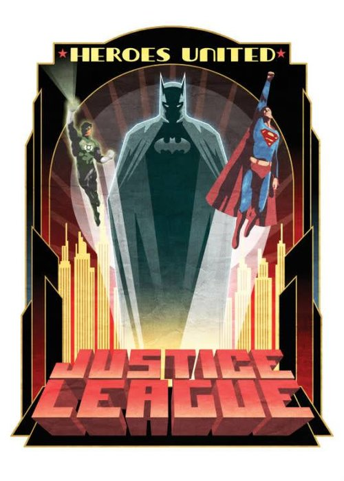 DC Comics Heroes United  | Justice League Retro