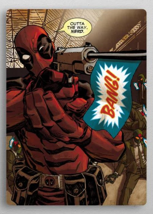 Marvel Outta the way Nerd  | Deadpool Covers