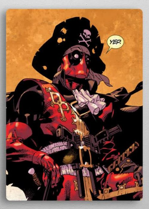 Marvel Captain Deadpool  | Deadpool Covers