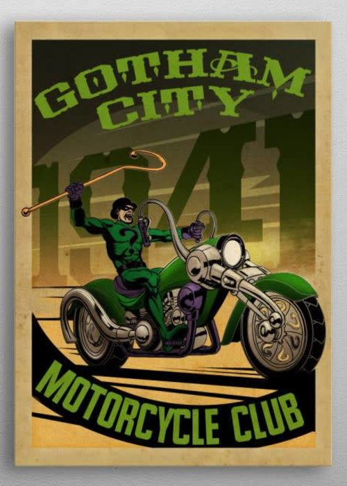 DC Comics Ridler Rider  | Gotham City Motor Club