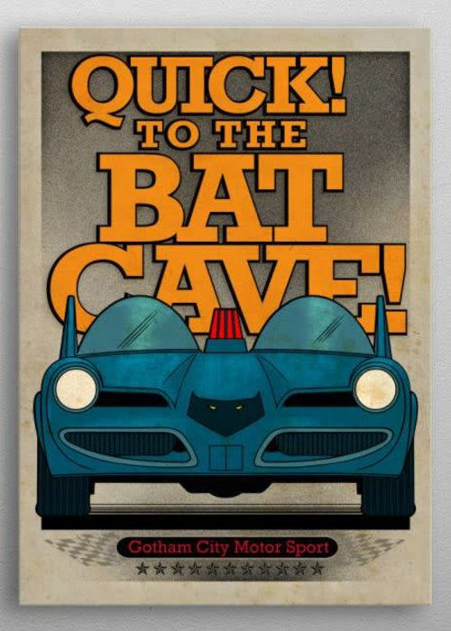DC Comics Batmobile 1966  | Gotham City Motor Club