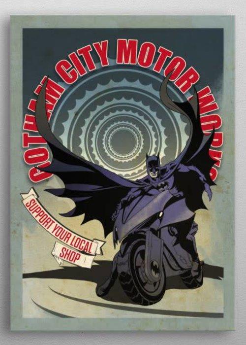 DC Comics Modern Batcycle  | Gotham City Motor Club