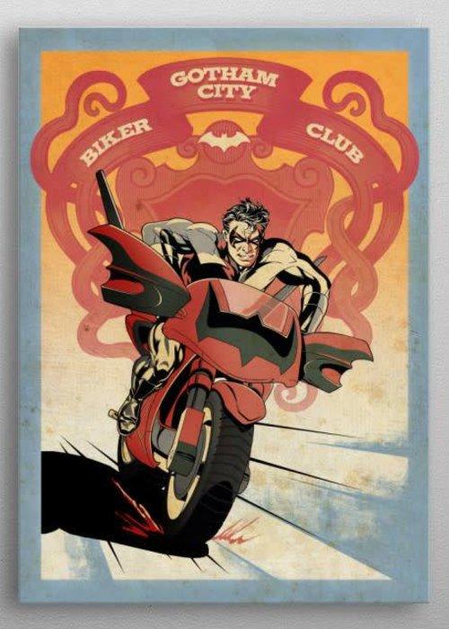 DC Comics Nightwing Bike    Gotham City Motor Club