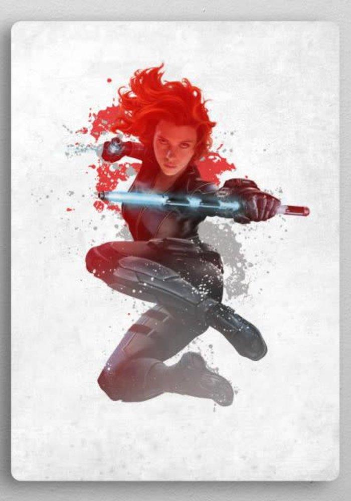Black widow | Civil War Red White & Blue