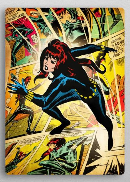 Marvel Black widow | Marvel silver age