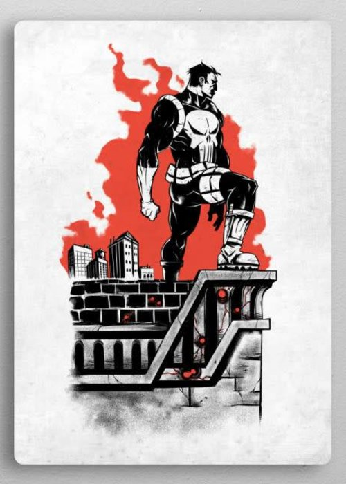 Marvel Trooper First Numbered Print |  The Defenders
